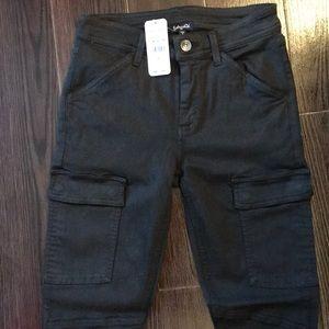 NWT splendid skinny cargo jeans